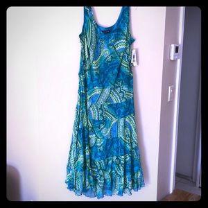 Gorgeous Jones New York dress lined, 16W, NWT.